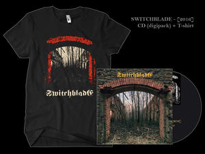 SWITCHBLADE - [2016] CD + T-shirt
